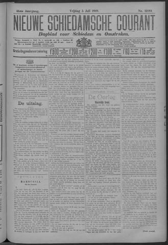 Nieuwe Schiedamsche Courant 1918-07-05