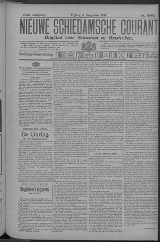 Nieuwe Schiedamsche Courant 1917-08-03