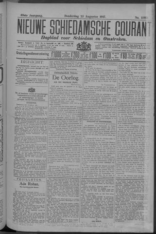 Nieuwe Schiedamsche Courant 1917-08-23
