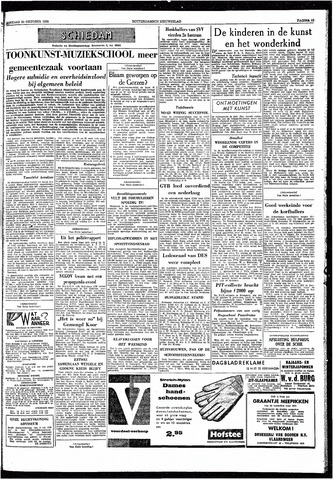 Rotterdamsch Nieuwsblad / Schiedamsche Courant / Rotterdams Dagblad / Waterweg / Algemeen Dagblad 1959-10-20