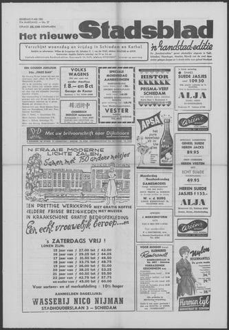 Het Nieuwe Stadsblad 1961-05-09
