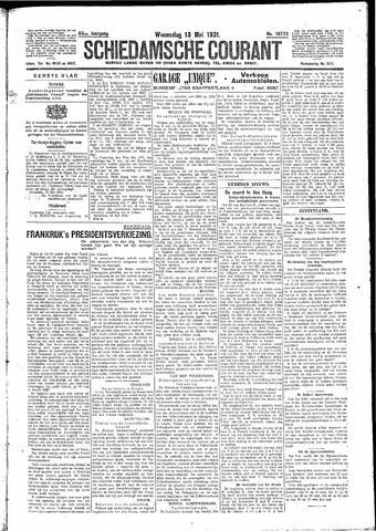 Schiedamsche Courant 1931-05-13