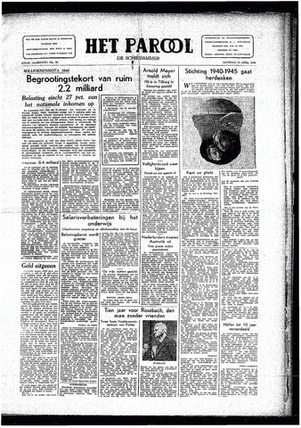 Rotterdamsch Parool / De Schiedammer 1946-04-16
