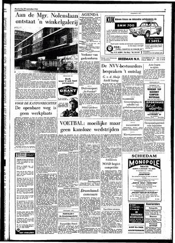 Rotterdamsch Parool / De Schiedammer 1961-09-28