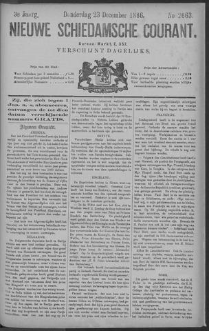 Nieuwe Schiedamsche Courant 1886-12-23