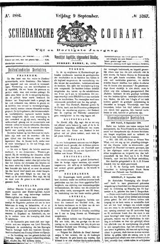Schiedamsche Courant 1881-09-09