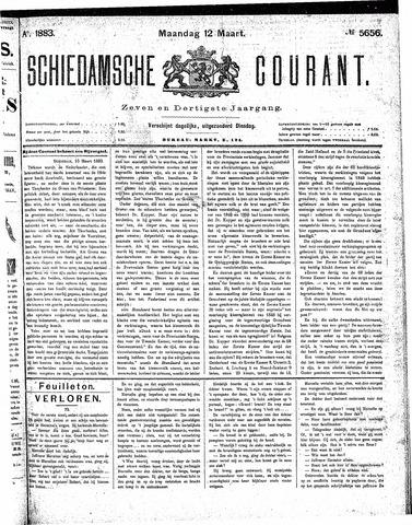 Schiedamsche Courant 1883-03-12