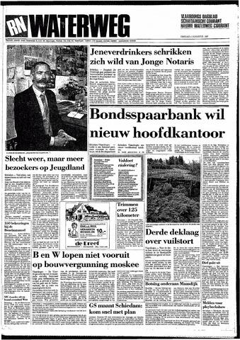 Rotterdamsch Nieuwsblad / Schiedamsche Courant / Rotterdams Dagblad / Waterweg / Algemeen Dagblad 1987-08-04