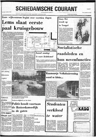 Rotterdamsch Nieuwsblad / Schiedamsche Courant / Rotterdams Dagblad / Waterweg / Algemeen Dagblad 1974-10-05
