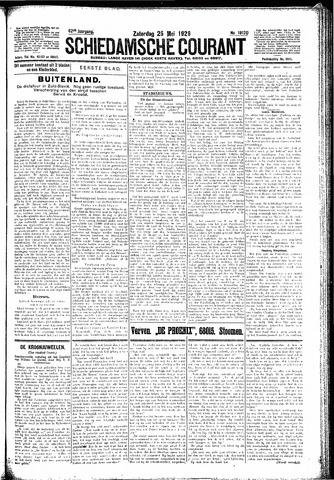 Schiedamsche Courant 1929-05-25