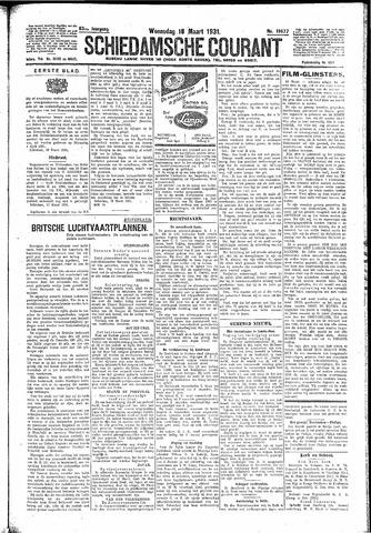 Schiedamsche Courant 1931-03-18