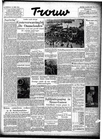 Trouw / De Rotterdammer 1953-05-16