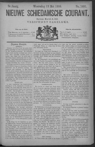 Nieuwe Schiedamsche Courant 1886-05-19