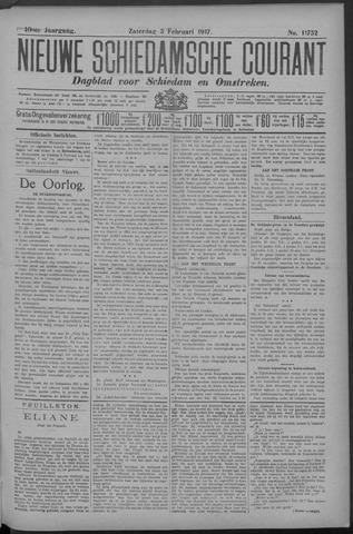 Nieuwe Schiedamsche Courant 1917-02-03