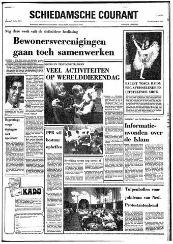 Rotterdamsch Nieuwsblad / Schiedamsche Courant / Rotterdams Dagblad / Waterweg / Algemeen Dagblad 1974-10-07