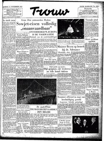 Trouw / De Rotterdammer 1953-11-17