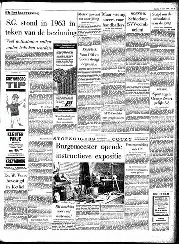 Rotterdamsch Parool / De Schiedammer 1964-04-14