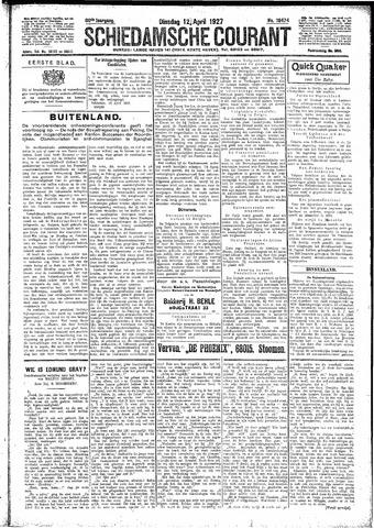 Schiedamsche Courant 1927-04-12