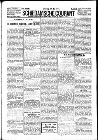 Schiedamsche Courant 1931-05-30