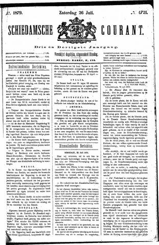 Schiedamsche Courant 1879-07-26
