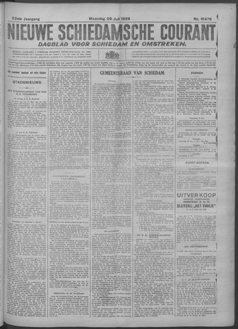 Nieuwe Schiedamsche Courant 1929-07-29