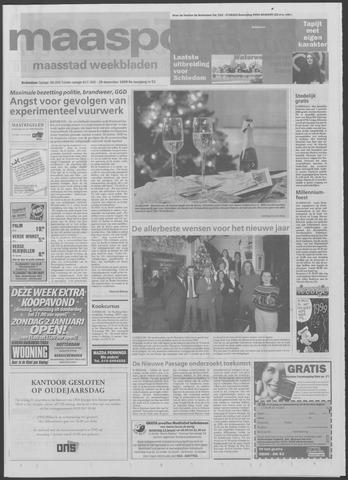 Maaspost / Maasstad / Maasstad Pers 1999-12-29