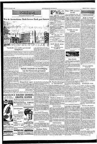 Rotterdamsch Nieuwsblad / Schiedamsche Courant / Rotterdams Dagblad / Waterweg / Algemeen Dagblad 1953-03-06