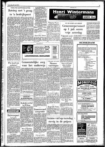 Rotterdamsch Parool / De Schiedammer 1961-05-25