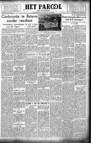 Rotterdamsch Parool / De Schiedammer 1945-11-19