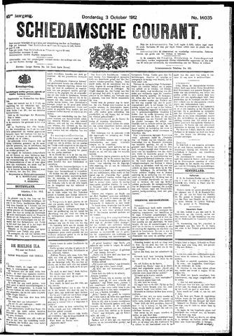 Schiedamsche Courant 1912-10-03