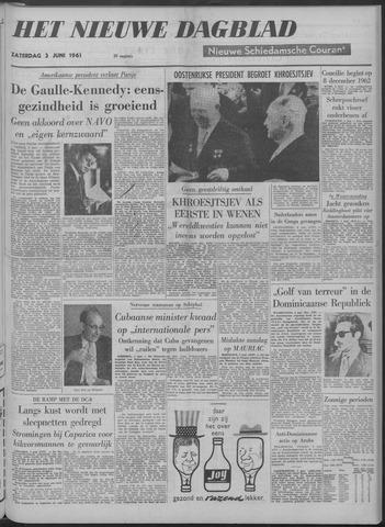 Nieuwe Schiedamsche Courant 1961-06-03