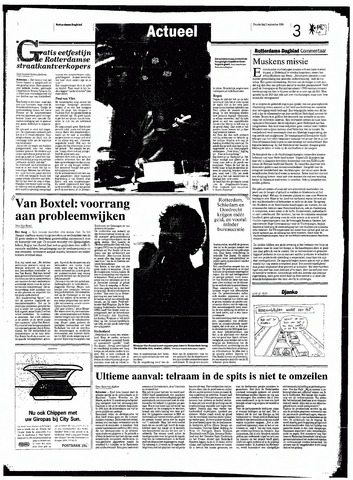 Rotterdamsch Nieuwsblad / Schiedamsche Courant / Rotterdams Dagblad / Waterweg / Algemeen Dagblad 1998-09-03