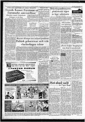 Rotterdamsch Parool / De Schiedammer 1957-09-09