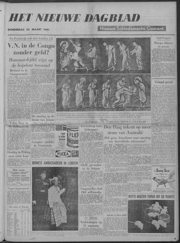 Nieuwe Schiedamsche Courant 1961-03-30