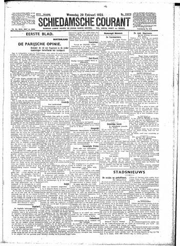 Schiedamsche Courant 1935-02-20