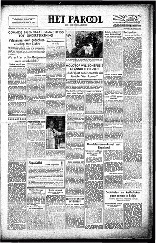 Rotterdamsch Parool / De Schiedammer 1947-03-18