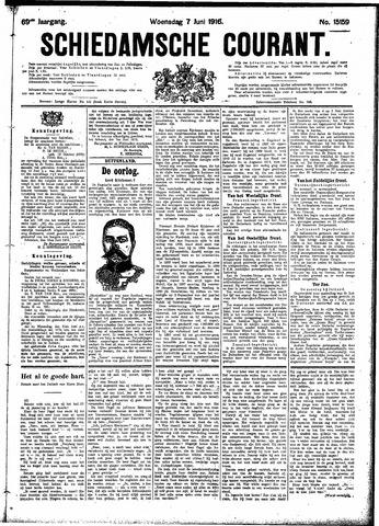 Schiedamsche Courant 1916-06-07