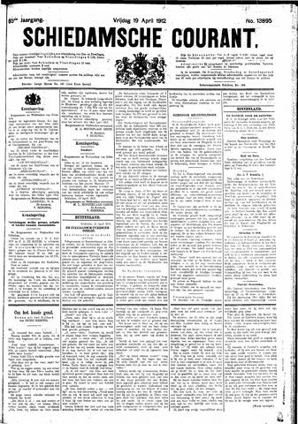 Schiedamsche Courant 1912-04-19