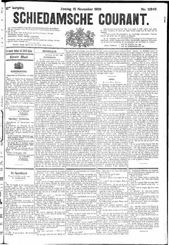 Schiedamsche Courant 1908-11-15