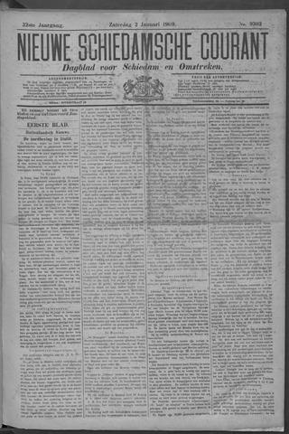 Nieuwe Schiedamsche Courant 1909-01-02