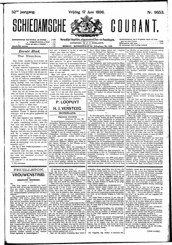 Schiedamsche Courant 1898-06-17