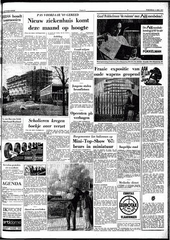 Trouw / De Rotterdammer 1967-05-03