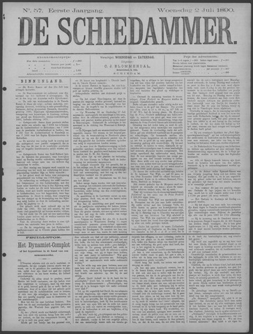De Schiedammer 1890-07-02