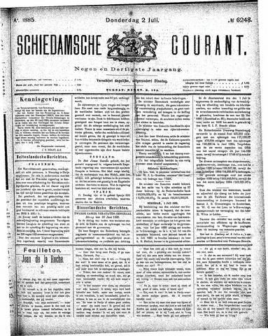 Schiedamsche Courant 1885-07-02