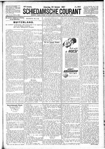 Schiedamsche Courant 1927-10-29