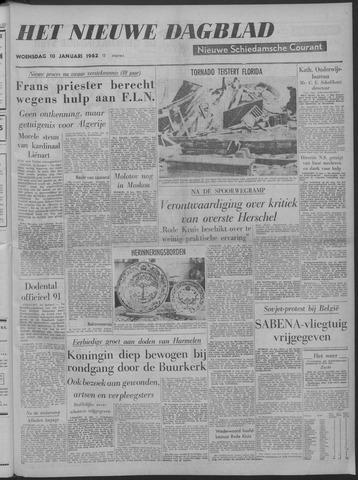 Nieuwe Schiedamsche Courant 1962-01-10