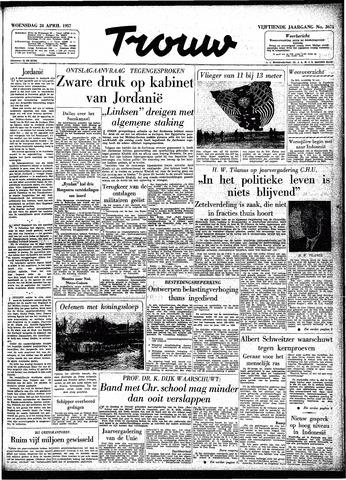 Trouw / De Rotterdammer 1957-04-24