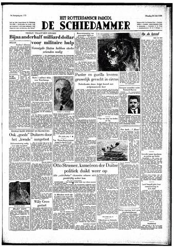 Rotterdamsch Parool / De Schiedammer 1949-07-26