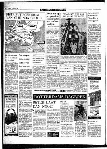 Rotterdamsch Parool / De Schiedammer 1968-10-11