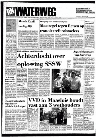 Rotterdamsch Nieuwsblad / Schiedamsche Courant / Rotterdams Dagblad / Waterweg / Algemeen Dagblad 1985-12-11